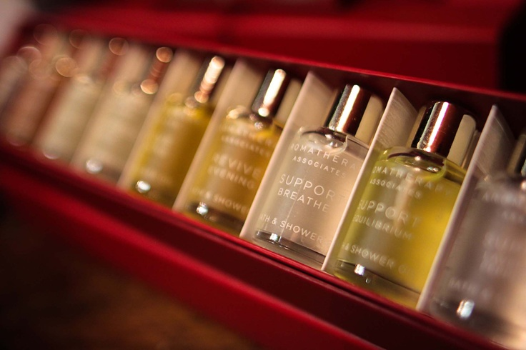 Aromatherapy Associates    http://www.thespabreckenridge.com/about/amenities-gallore/
