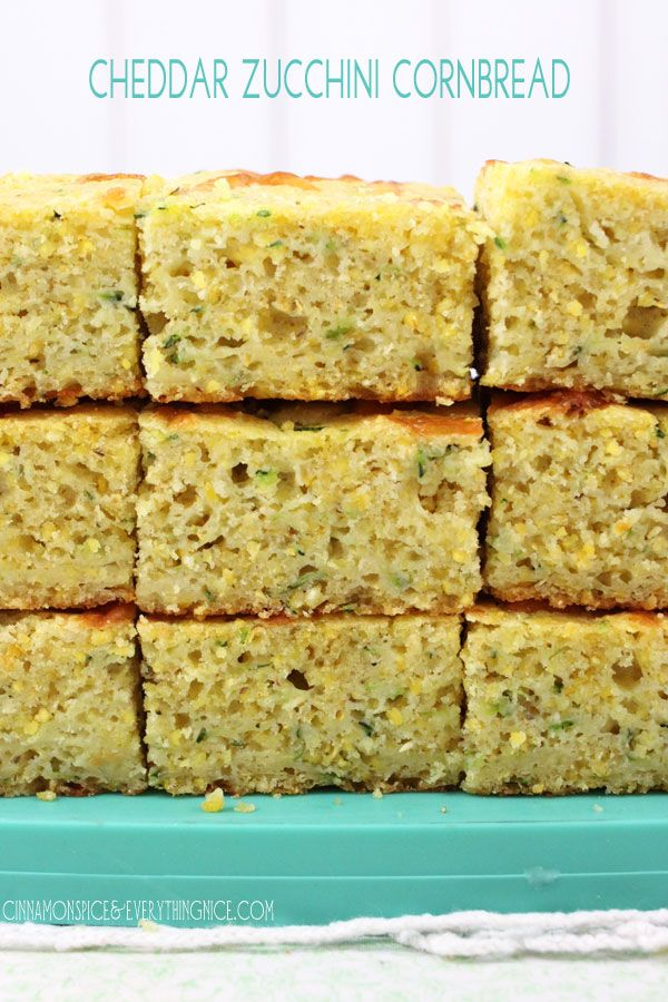 A delicious cornbread studded with grated zucchini and sharp cheddar cheese. Great companions for cornbread. Tucked inside bread is one of the best places for zucchini! Mainly it adds moisture and tenderness making dry cornbread a thing of the past. You can't really taste it because there's not much flavor in it to begin …