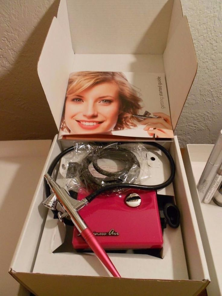 Other Makeup Tools and Accs: Luminess Air Airbrush Makeup System Starter Kit--New Pink Basic System In Box -> BUY IT NOW ONLY: $137.0 on eBay!