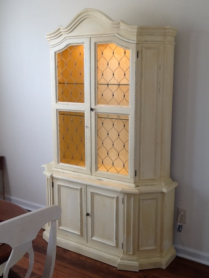 Antique China Cabinet Rustic Diy Pinterest