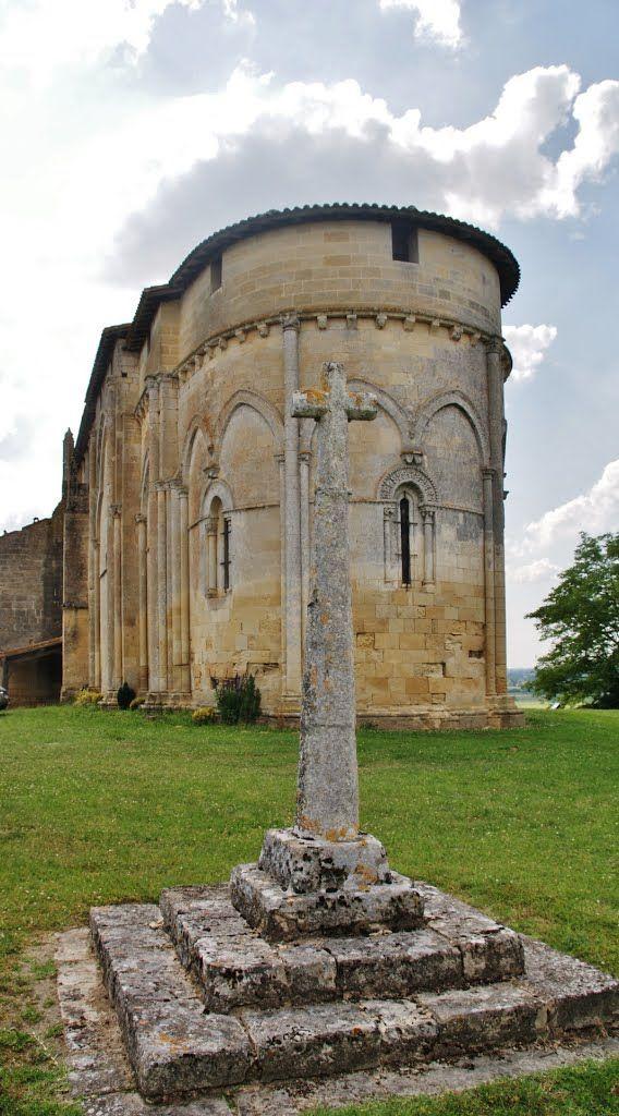 église de Pujols, Aquitaine