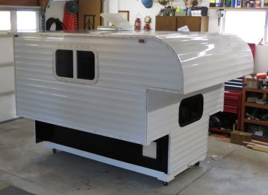 Do It Yourself Home Design: Homemade Pickup Camper Plans