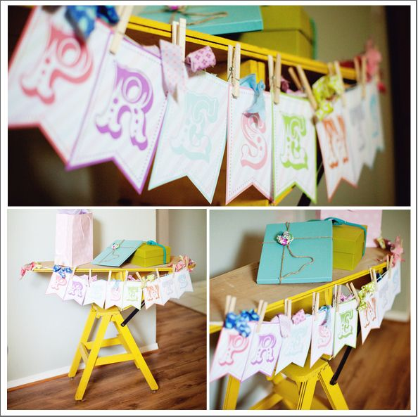 17 Best Images About Baby Shower Gift Table On Pinterest