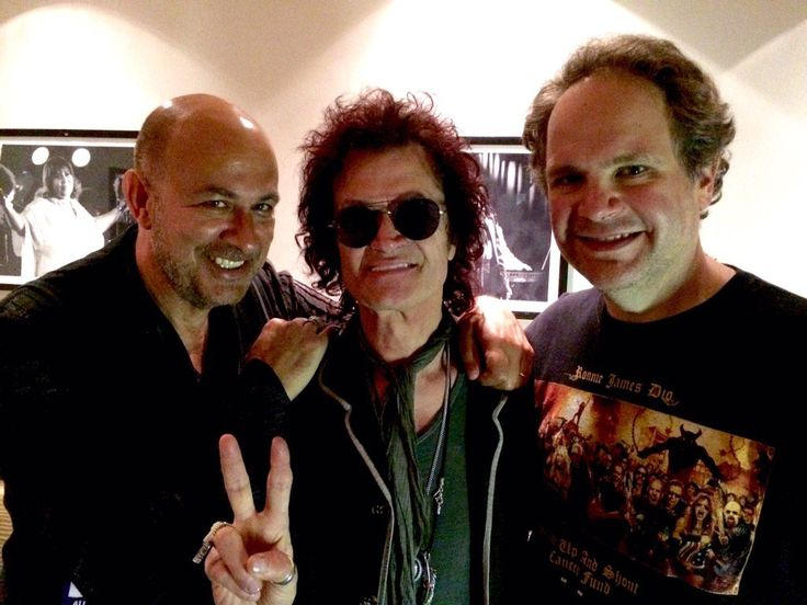 NYC w/ brothers John Varvatos & Eddie Trunk ✌️ ...the heartbeat of music in this pic ~ all love ⚜