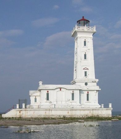 Point Abino Light, Fort Erie, Southwestern Ontario, Canada