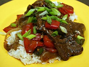 Chinese Pepper Steak - Dave Scantland