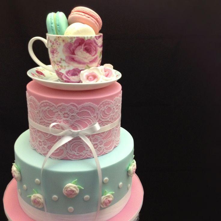 Tea Party Cake Images : Tea Party Bridal Shower Cake Parties Pinterest