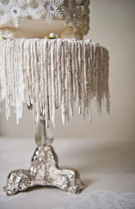 Winter icicles
