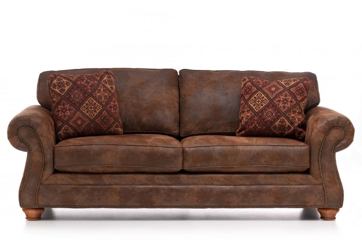 Best Laramie Sofa By Broyhill Furniture Brown Living Room 400 x 300