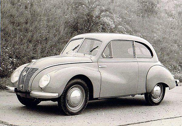 IFA F 9 ab 1953 von Zwickauer AUDI-Werk nach Eisenach verlagert; ursprügl. Entwicklung von DKW 1939