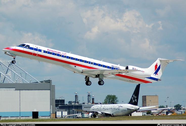N634AE American Eagle Embraer ERJ-145LR @CYUL