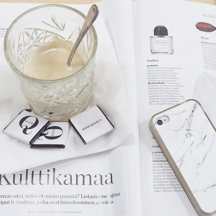 Luxury moment Elle, latte, Taru and @qhairq #hairdresser #metime