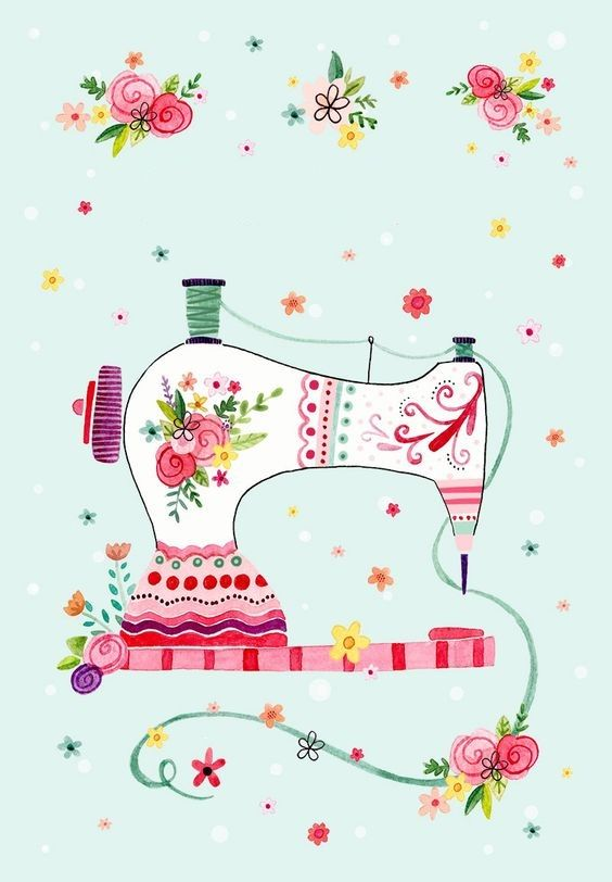 sewing machine Felicity French