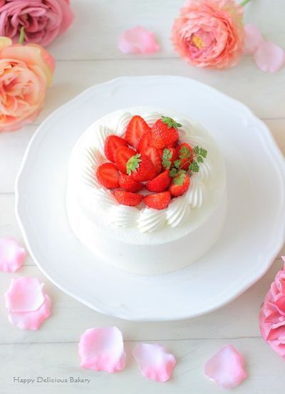 イチゴのショートケーキ by あいりおーさん | レシピブログ - 料理 ...