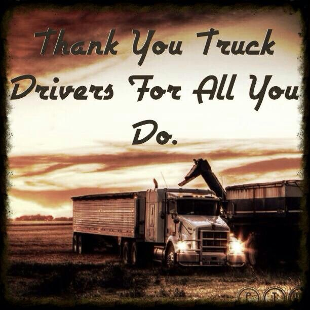 LIKE Progressive Truck Driving School: http://www.facebook.com/cdltruck #trucking #truck #driver   Thank you truck drivers for all you do