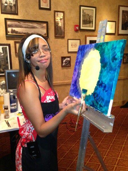 Painting for Vino Van Gogh