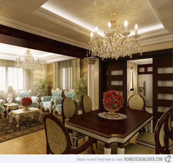 20 Opulent Traditional Dining Room Ideas With Pictures