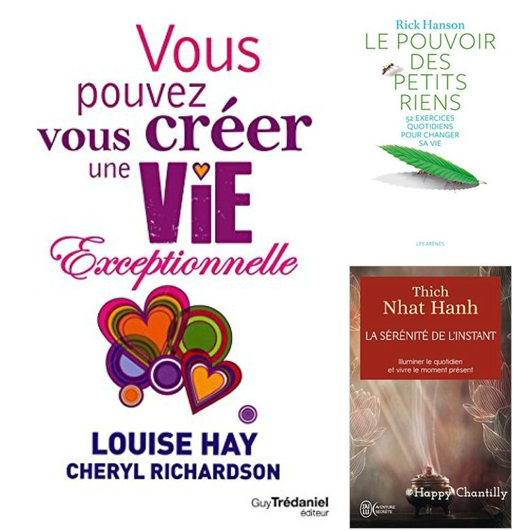 3 livres de développement personnel