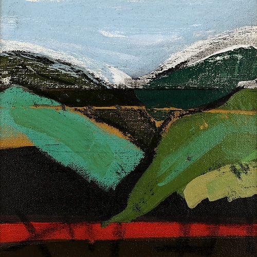 Landscape oil painting 16-100
