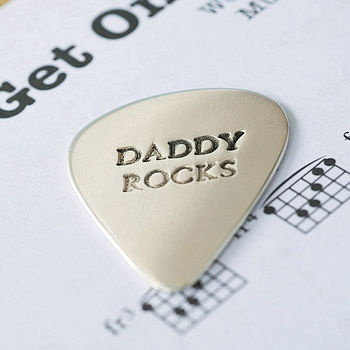 Fathers day sorted!: Gifts Ideas,  Plectrum, Daddy Rocks, Cute Ideas, Daddy To Be, Guitar Pick, Father Day Gifts, Baby Daddy, Father'S Day