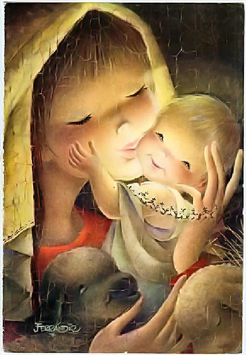 Juan Ferrándiz - Virgen con el niño