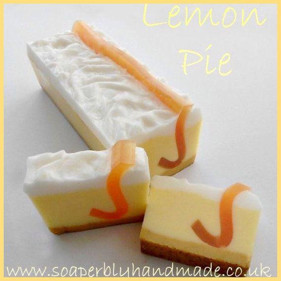 Sapone limone sapone artigianale, sapone pagnotta, cura del bagno, sapone rinfrescante, barre di sapone