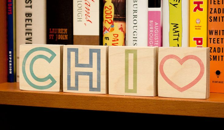 """New to johnwgolden on Etsy: City Names Chicago Art- CHI City Love Letter Rustic Signs 2"""" x 2"""" Set of 4 Chicago Print- Chicago Illinois Art- Chicago Gifts for Friends (20.00 USD)"""