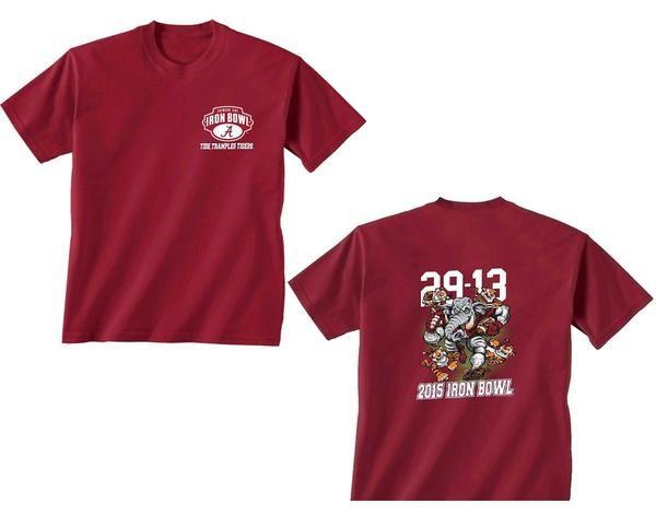 NCAA Alabama Crimson Tide SEC Iron Bowl Championship T-Shirt