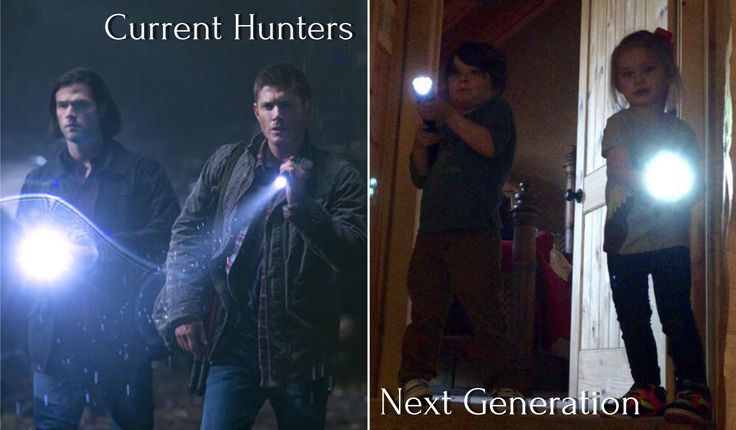 Future hunters featuring JJ Ackles and Thomas Padalecki!!