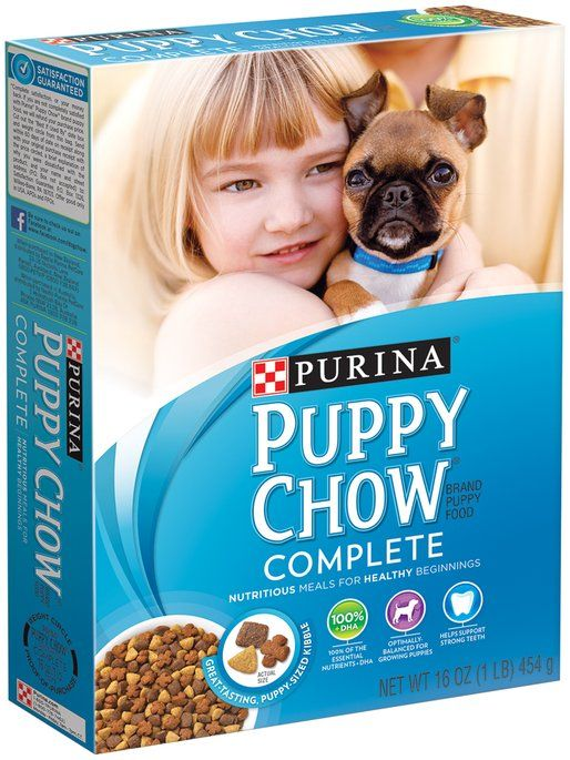 I'm learning all about Purina Puppy Chow Complete Dog Food 16 oz. Box at @Influenster!