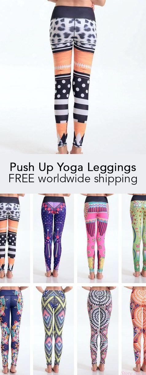 Push Up Yoga Leggings