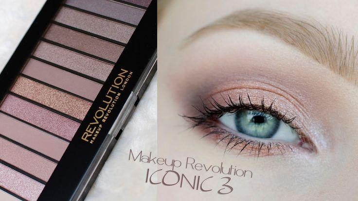 makijaż delikatny / dzienny / ślubny /  ** Makeup Revolution ICONIC 3 **...