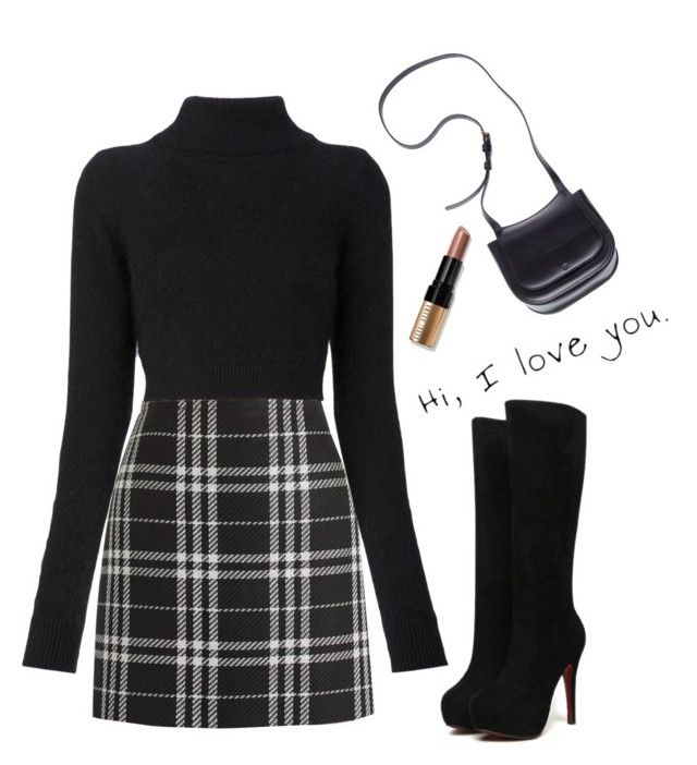 """""""Your forever is all that I need"""" by miki1994 ❤ liked on Polyvore featuring J.Crew, Balmain, The Row and Bobbi Brown Cosmetics"""