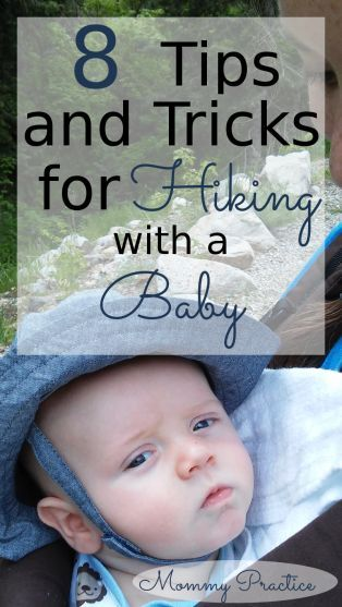 Hiking with Baby / Tips for Hiking with Infant / Outdoor Baby / Tricks for Hiking with Newborn