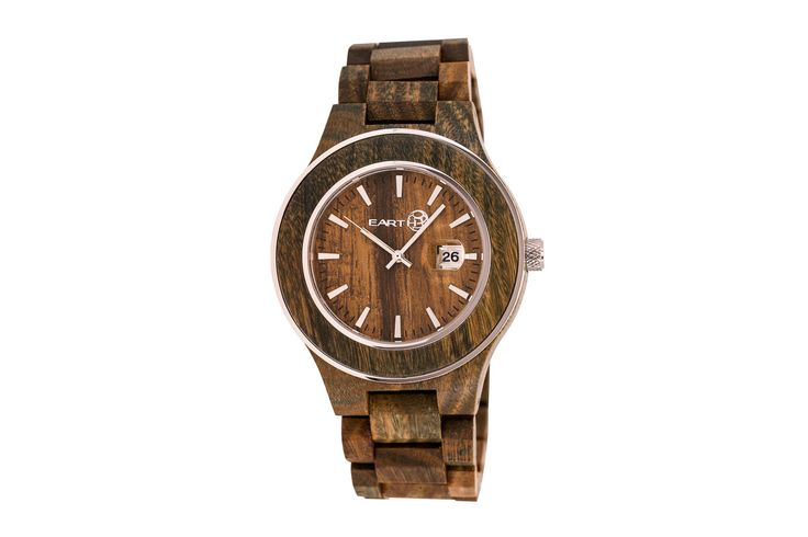 Earth Wood Watches Olive Cherokee Forget what you heard about wood. Sure, it's sustainable, recyclable and biodegradable. But have you seen it as a watch? Oh, you have. But have you seen it as the Olive Cherokee watch at a Perks price? Aha. See? We knew we'd get you.   The case is made of all-natural stained wood and measures 48 mm in diameter. The glass is made of mineral crystal. It...
