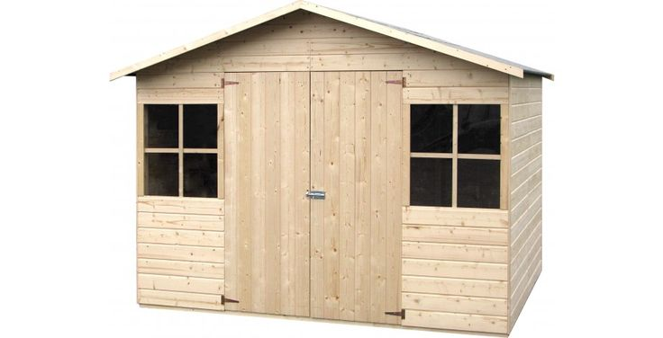 Abri de jardin en bois  4,86m² DECOR ET JARDIN