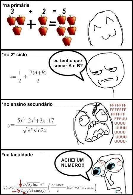 Eu sei que matemática é super importante para nossas vidas, MÁS... Eu a odeio¡ Sou de humanas, pronto falei!
