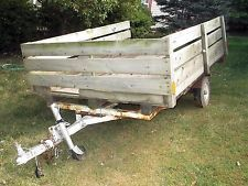 5x8 Utility Trailer With Ramps And New Spare