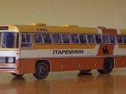 Mercedes-Benz O-355/O-326 Bus Free Vehicle Paper Model Download