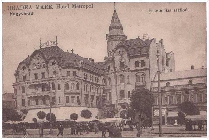 Oradea - Mare Hotel Metropol - interbelica