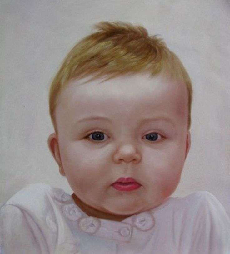 The professional painters can turn your baby's beautiful photo into portrait by using their skill. You can meet with the artists to turn the picture into portrait.