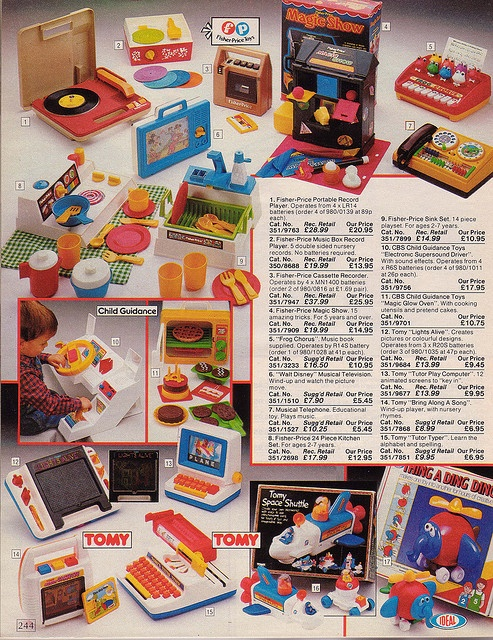 Vintage British Argos 1985 Catalogue by trippyglitters, via Flickr. Holy bible, I had that thing a ding ding. I could remember the toy, but I just couldn't think of its name.