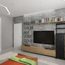 Фото из портфолио Детская комната в индустриальном стиле – фотографии дизайна интерьеров на InMyRoom.ru