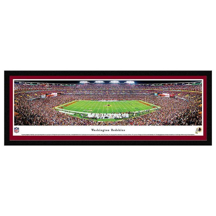 Washington Redskins Football Stadium Framed Wall Art, Multicolor
