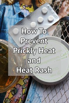 How to prevent and treat Heat Rash in two simple steps! If you suffer from prickly heat or heat rash on holiday or in the summer months then this post will help beat prickly heat for good. You won't believe how easy it is to stop heat rash and ease those symptoms with just two items!