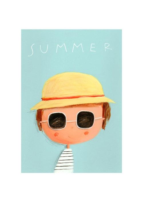 """Summer"" by begela (via Etsy)."