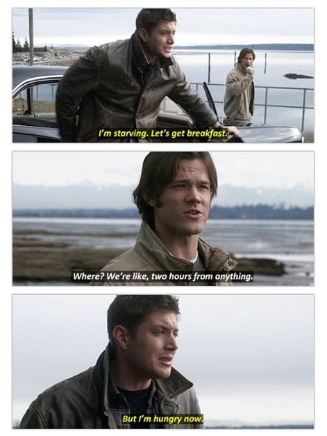 Oh Dean I love you