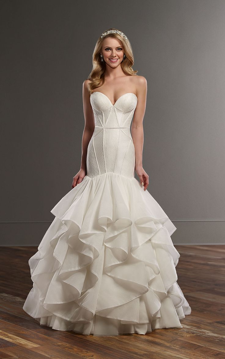 51 best images about martina liana wedding gowns on for Corset under wedding dress