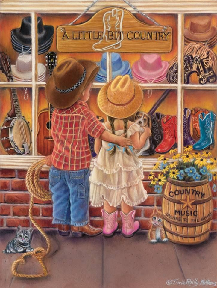 A Little Bit Country by Tricia