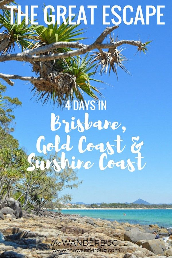 4 Days in Brisbane Gold Coast & Sunshine Coast